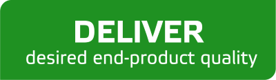 Deliver desired end-product quality