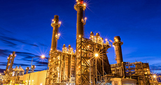 Combined cycle and gas power plants