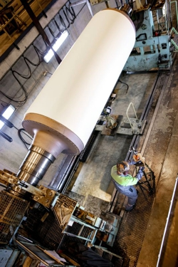 Dynamic balancing at a Valmet shop is a comprehensive process.