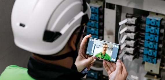 Valmet uses several digital tools to connect service experts with customers, as well as with each other.