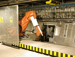 DeckHand robotic arm performs repetitive tasks.