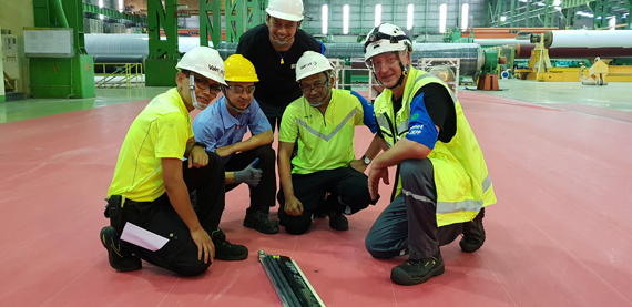 Valmet improved doctoring at IKPP Perawang in Indonesia