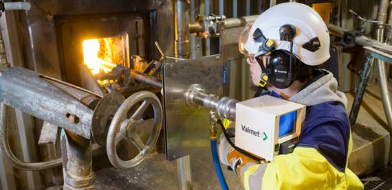 Valmet Furnace Online Inspection Services