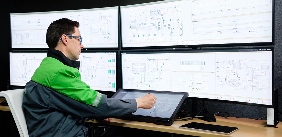 Valmet DNA UI - touch control