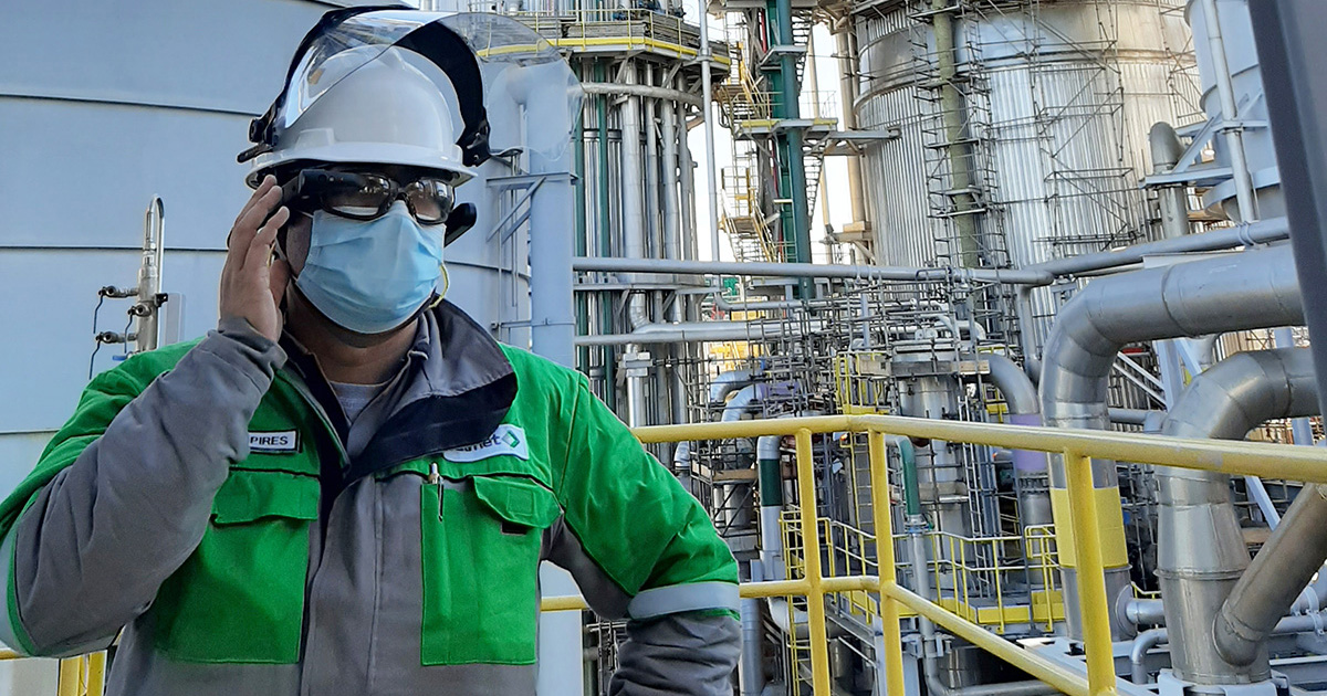 Valmet offers remote support with augmented reality in mill shutdown during pandemic