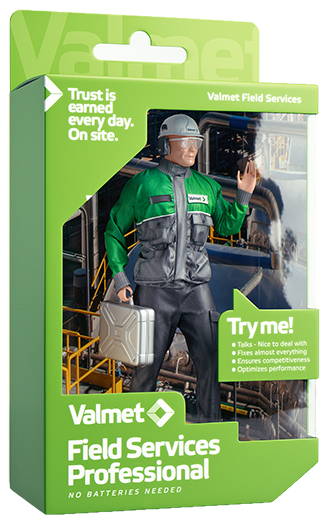 Call us right away and order a Valmet Field Services professional to visit your mill or plant!