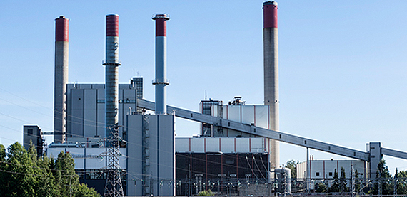 Combined heat and power plants