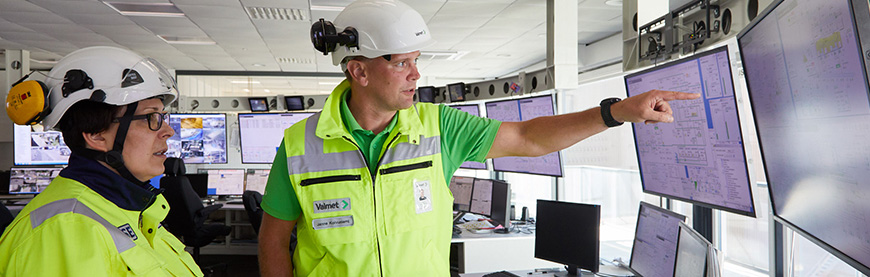 Valmet Industrial Internet (VII) for Fleet Management
