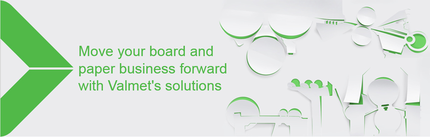 Move your board and paper business forward with Valmet's solutions