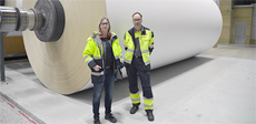 Grade change time reduced by 25% at Stora Enso Skoghall