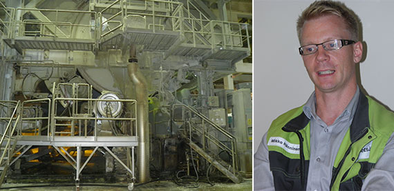 Improved energy efficiency with a new steam profiler at Metsä Tissue Mänttä Mill