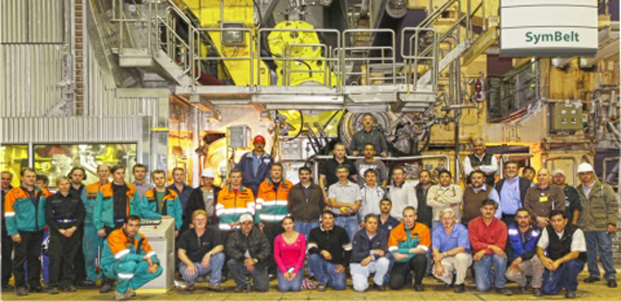 Capacity increase rebuild in Mexico