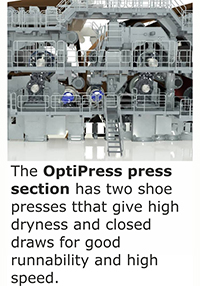 OptiPress two section