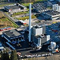 Biomass-fired steam boiler plant keeps Valio's cheese plant running
