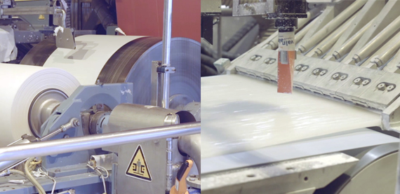 Valmet's pilot paper machine can be used to test foam forming