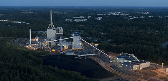 The Kymijärvi II plant is one of the most modern waste-to-energy CHP plants in Europe.