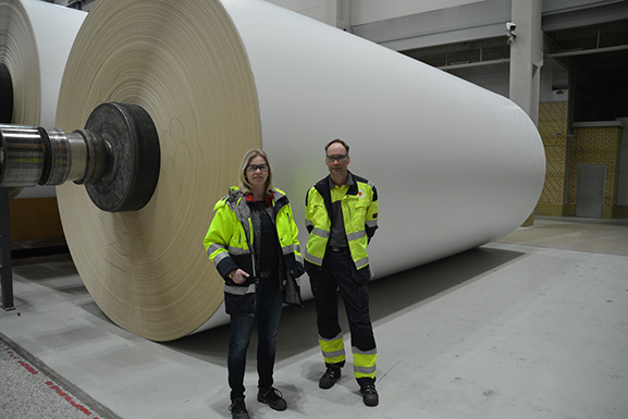 New Valmet IQ QCS increased efficiency at Stora Enso Skoghall