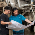 Yinzhou Paper's rebuild for better quality test liner