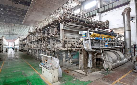 Yinzhou papers two paper machines were rebuilt with new OptiFlo headboxes