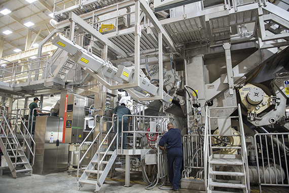 PSF's mill in Mexicali houses seven paper machines, six tissue machines, and one OCC brown paper machine. Valmet delivered two Advantage DCT100TS machines in 2006 and 2008, one Advantage NTT machine in 2013, and now another Advantage DCT 100TS machine for TM 7.