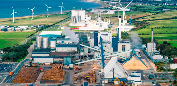 Iggesund Workington board mill in UK