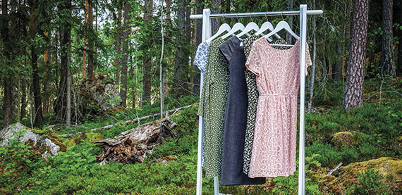 Sustainable clothing from wood pulp