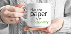 Not just paper but functionality