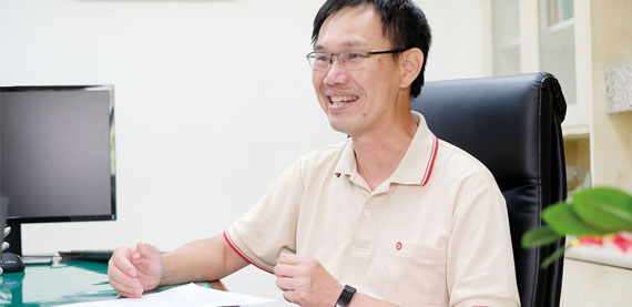 """OptiConcept M was chosen for its advantages in energy saving and water saving in the beginning,"" says Chou Yu Lung, Mill Manager of Yuen Foong Yu's Hsin Wu Mill."
