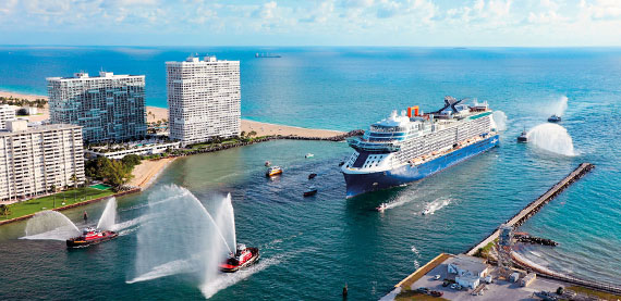 Celebrity Edge, the first Celebrity Cruises Edge Class cruise ship in service, showcases the latest in safe, reliable and sustainable sailing.