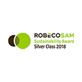 Valmet receives Silver Class Sustainability Award 2018 in RobecoSAM's annual Sustainability Yearbook