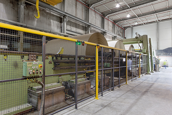 The rebuilt paper machine successfully started up at VPK Paper's