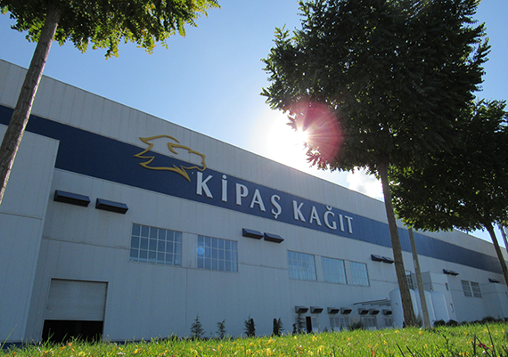 Kipaş Kağıt A.Ş is committed to produce high quality containerboard paper from waste paper.