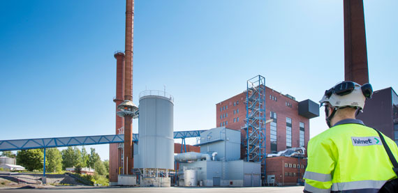 Valmet BFB Boiler utilizes bubbling fluidized bed combustion technology