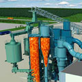 Biomass gasification eliminates fossil fuels in the pulp mill
