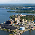 Fuel conversion for power boilers: Vaskiluodon Voima Oy, Vaasa, Finland