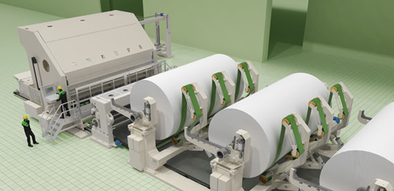 Valmet Tissue Rewinder technology