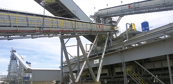 Conveyor systems and support structures