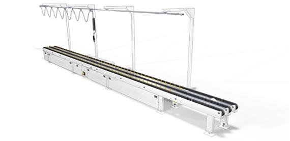 manual dewiring conveyors. Black Bedroom Furniture Sets. Home Design Ideas