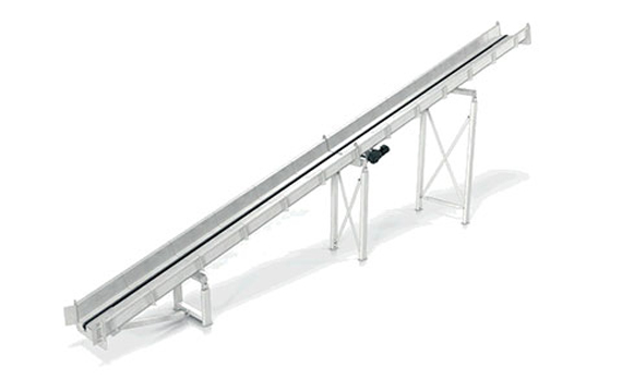 Pulper feed conveyor