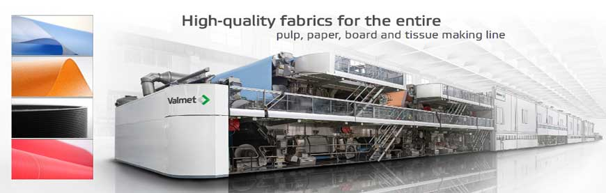 Paper machine clothing: Valmet fabrics