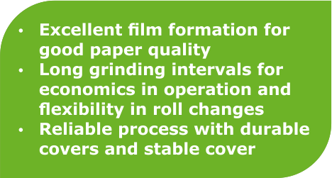 Benefits of Sizer Roll Covers