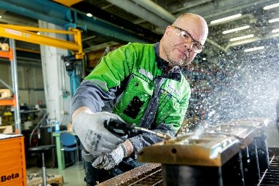 Maintenance services in Valmet Darmstadt