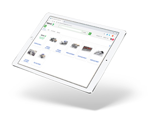 Valmet's eStore on Tablet