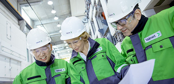 Valmet's first global multi-site certificate for Quality, Environmental and Health & Safety standards has been issued.